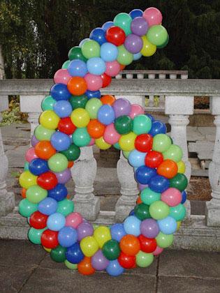Verjaardag decoratie zelf maken octopuss for Ballonnen versiering zelf maken